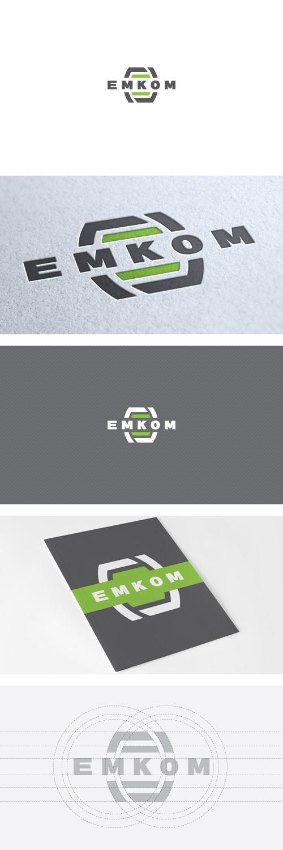 разработка логотипа инжиниринговой компании Эмком (группа компаний)