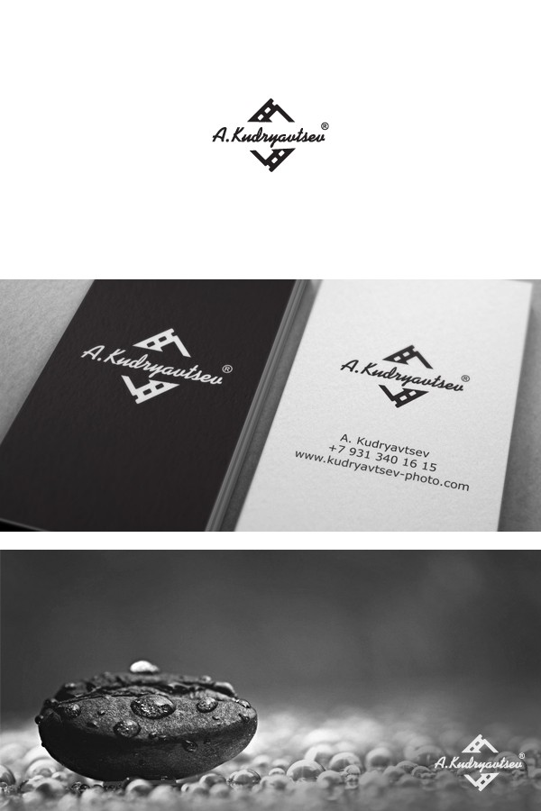создание логотипа фотографа